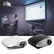 Home Led Mini Micro Projector Portable Projector with Hdmi Tv ...