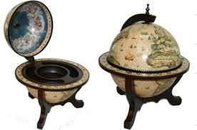 """<b>Глобус</b>-<b>бар Brigant</b> """"<b>Сокровища древнего</b> мира"""", 33 см, 45x45x59 ..."""