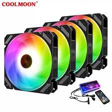 <b>1pcs 3pcs 4pcs</b> 6pcs Choice 12CM PWM RGB PC Fan Case ...