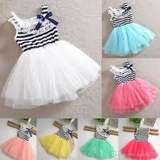 lace girls dresses new tutu skirt dress design for kids baby girl wedding dress baby girl party dress flower dress kids dress lace striped 5 baby girl dress designs