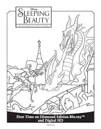 Small Picture Sleeping Beauty Coloring Sheet Sleeping Beauty Diamond Edition