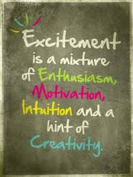 Excitement Quotes on Pinterest | Quotes About Excitement, Turning ... via Relatably.com
