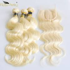 2019 <b>Ross Pretty</b> Remy 613 Indian <b>Human Hair</b> Bundles With Lace ...