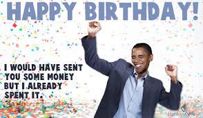Image result for happy birthday obama meme