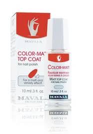 Color matt <b>top coat</b>   <b>Mavala</b> nail, Bright red nails, Nails