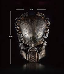 1pcs/lot Predator Resin <b>Mask Collective</b> Edition Vintage Cosplay ...