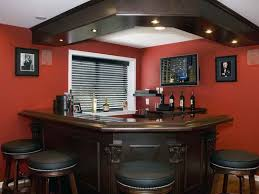 image of decorating ideas for a basement bar basement rec room decorating