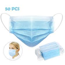 Tekcoo <b>50 PCS 3 Layer Face</b> Mask | Walmart Canada