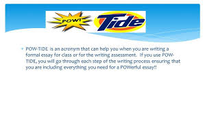 pmr essay best essays online how to write a formal essay in apa   pow tide is an acronym that can help you when you are writing a how to