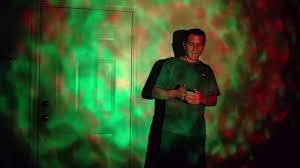 Starlight 7 Color Remote <b>RGB LED</b> Water Wave Ripple <b>Effect Stage</b> ...