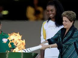 Resultado de imagem para tocha olimpica em brasilia