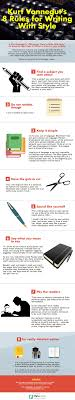 rules from kurt vonnegut that will make you a better writer 8 rules from kurt vonnegut that will make you a better writer infographic