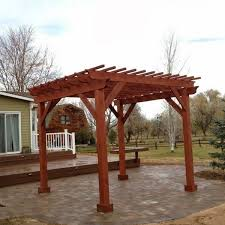 building a pergola over a patio