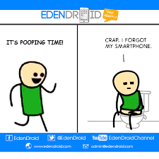 Smartphone Meme - It's Poop'O'Clock Doodie Time! via Relatably.com