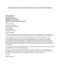 good job cover letter more examples education executive sample for gallery of management cover letter templates