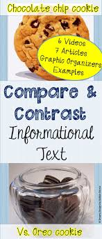best ideas about compare two texts close reading compare contrast cookie text structure research evidence writing test prep 6 7 8