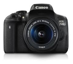 Interchangeable Lens Cameras - <b>EOS 750D Kit</b> (EF-S18-55mm IS ...