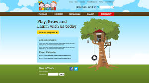 treehouse daycareclix treehouse share home childcare website design template