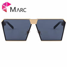 <b>MARC UV400 WOMEN MEN</b> Sunglasses Oculos Square Revtangle ...