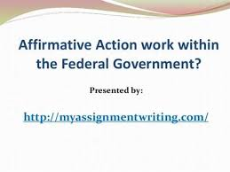 tips for writing an affirmative action research paperaffirmative action research paper   term paper   words
