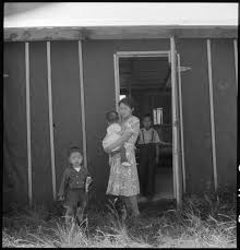 photo essay ten portraits of mothering in wwii ese american 6 hide yasutake her children and joe and a nisei ier their barracks are in block 4 apartment c at the mindoka concentration camp idaho 1943