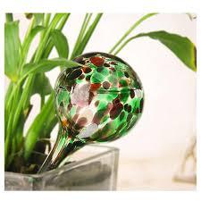 1Pc 100ml Glass Self <b>Automatic Waterer Drip</b> Irrigation Ball Lazy ...