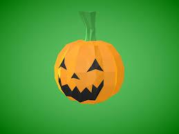 <b>Halloween Pumpkin</b> - Poly