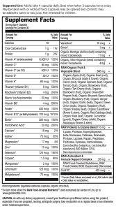 Garden of Life <b>Vitamin Code Men 240</b> Veg Caps  Hpnutrition.ie