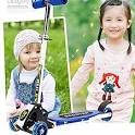 QqHAO <b>Infant Shining Kids Scooter</b> Outdoor Toy Baby Bike Safety ...
