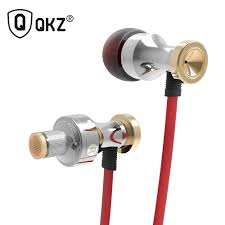 QKZ KD1 Heavy Bass MP3 <b>In Ear Noodle</b> Wired Cell Phone ...