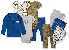 <b>Набор</b> одежды для новорожденных <b>carters комплект</b> из 9 вещей на