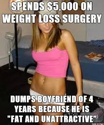 Weight Loss Surgery Doesnt Fix The Soul #meme #weight #loss ... via Relatably.com