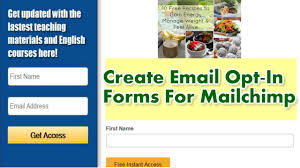 create email sign up forms in mailchimp embed into wordpress create email sign up forms in mailchimp embed into wordpress website beginners