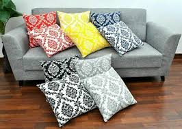 <b>Gothic</b> Decor Damask Brocade-BLACK <b>SQUARE PILLOW</b> COVER ...