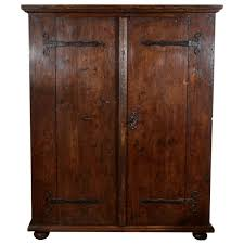 17th century rustic german armoire antique mahogany armoire