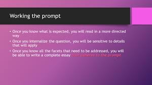 ap prose passage essay why is it there the prose passage essay 7 working