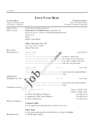 construction resume skills list