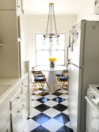 Of Kitchen Floors Bradys Diy Peel And Stick Kitchen Flooring For Under 50