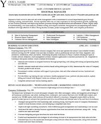 sales coordinator resume sample click above to save regional example page 1 sample resume sales manager