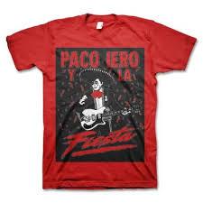 Frank Iero - <b>Paco</b> Iero Y <b>La</b> Fiesta <b>T</b>-<b>Shirt</b> (Red)   Frank iero, Shirts, T ...