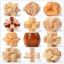 Kids Adult Wood Games Mind Brain Teaser <b>Beads</b> Wooden <b>Puzzles</b> ...