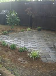 backyard paver patio outdoor oasis