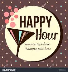 vintage happy hour invitation stock vector 148551527 shutterstock vintage happy hour invitation