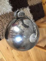 3 Size <b>Plating</b> Mirror Glass <b>Ball</b> Lampshade <b>Modern</b> Ceiling ...