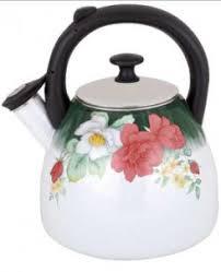 <b>Чайник эмалированный</b> ЭЛИС ЭЛ-308 со свистком <b>3.0</b>л купить в ...