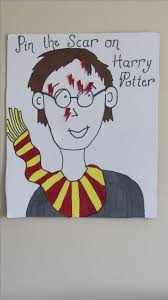 best ideas about harry potter craft harry potter pin the scar on harry potter harry potter party games