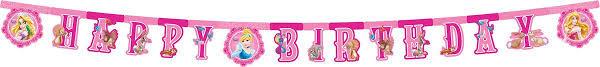 Procos <b>Гирлянда</b>-буквы <b>Happy Birthday</b> Принцессы и животные ...