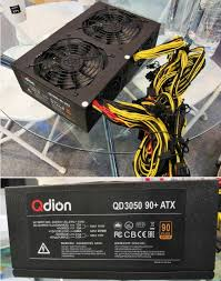 <b>Qdion</b> and Afox showed off 3000W and 3300W PSUs at Computex