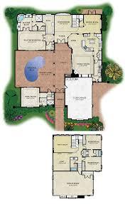 Types courtyard floor plansCourtyard floor plan