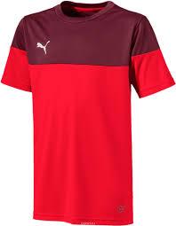 <b>Футболка</b> детская ftblPLAY Shirt Jr. 6557760, цвет: красный ...